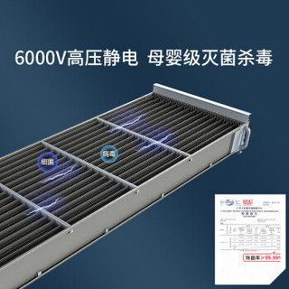 BROAD 远大 SC250 中央新风系统 (白色)