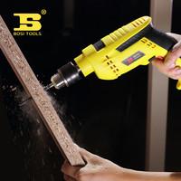 波斯 多功能五金工具箱套装家用 木工电工维修工具套装带冲击钻