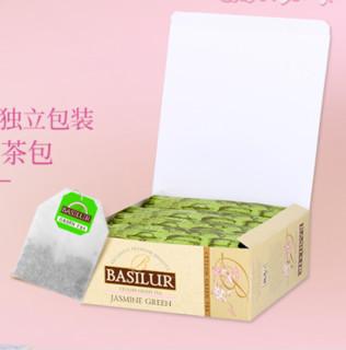 Basilur 宝锡兰 优选茉莉绿茶包100袋