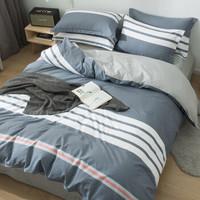 百富帝(byford)四件套全棉家纺 床上用品床单枕套双人纯棉套件1.5/1.8米床被套200*230 直率