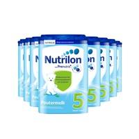 Nutrilon 诺优能 婴儿配方奶粉 5段 800g 8罐装