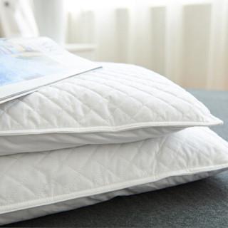 Nan ji ren 南极人 NJZT14 安睡枕头 (白色、单人、46cm*72cm、单只装、花草枕)