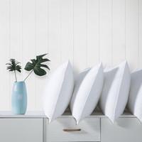 九洲鹿 羽丝绒枕头 (白色、单人枕头、45*70 cm、羽丝绒枕头)