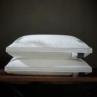 I-WILL 艾维 羽丝绒枕 (白色、双人、48*74cm、双支装、纤维枕)