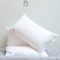 Downia 杜维雅 B-081 高蓬松柔软枕 (白鹅绒、一只装、48*74CM、单人)