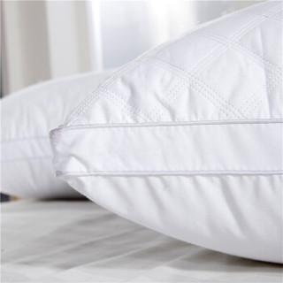 Bejirog 北极绒 立体枕 ( 白色、单人、48*74cm 、一只装、全棉枕)