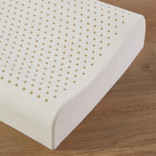 MENDALE 梦洁家纺 天然乳胶枕 (白色、单人、68*38*10/12cm、一个装、乳胶枕)