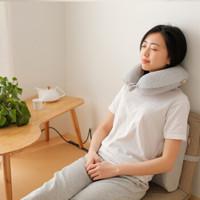 8H u型枕头 (灰色、单人、一只装、u型枕)