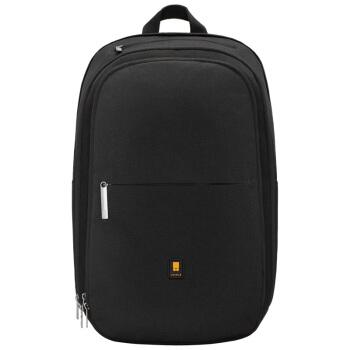 地平线8号(LEVEL8)商务休闲双肩包背包 15.6英寸大容量男士电脑包黑色(锤科出品)