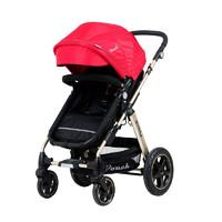Pouch 帛琦 P680 尊享版 可平躺双向避震婴儿推车