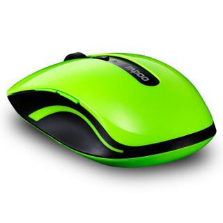 雷柏(Rapoo) 7200P 无线鼠标 办公鼠标 笔记本鼠标 绿色