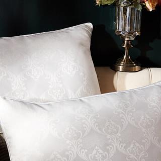 博洋家纺(BEYOND)提花面料蚕丝填充枕头芯 景熙丝浓枕 48*74cm