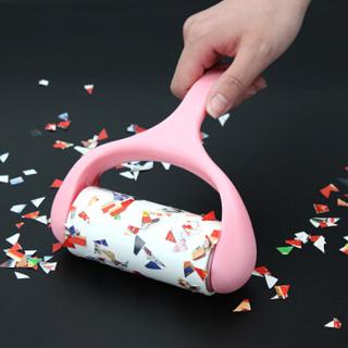 伊司达 粘毛器 粘尘纸滚筒可撕式去毛粘刷9卷装