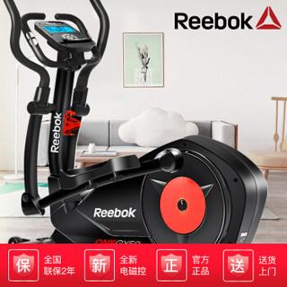 锐步Reebok 椭圆机家用静音磁控太空漫步机 GX50黑色ZS
