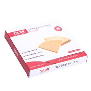 亚米(Yami)101V形 咖啡滤纸 YM2800 1-2人份