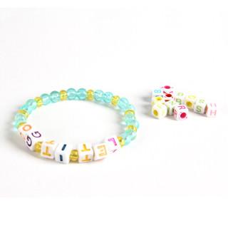 智高(ZHIGAO)幻彩创意闪晶串饰 冰雪奇缘儿童创意编织手链项链手工玩具D-6002
