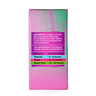 Tmaxx Purer 紧凑型导管式卫生棉条 无香型 (3支普通型+6支量大型+3支超大型)12支混合装