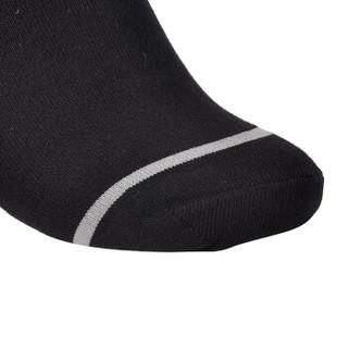 PEAK 匹克 男袜休闲纯色百搭运动袜 W253121 黑色 均码