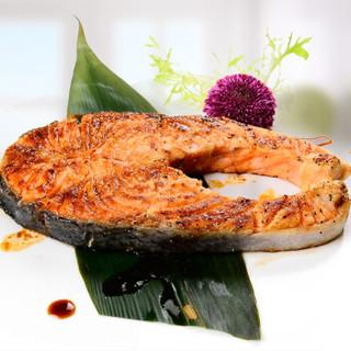 蓝雪 冷冻智利三文鱼扒(大西洋鲑) 500g 2~3块 袋装 火锅食材 海鲜水产