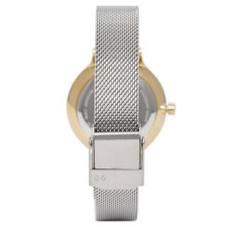 诗格恩(Skagen)手表 新款银色钢制表带石英女士时尚腕表SKW2340