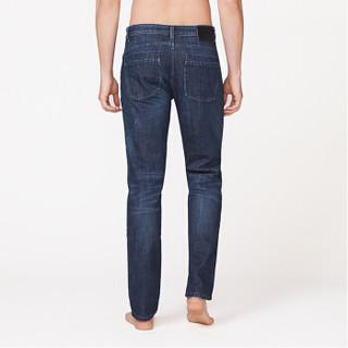 InteRight 轻商务休闲合体修身牛仔裤