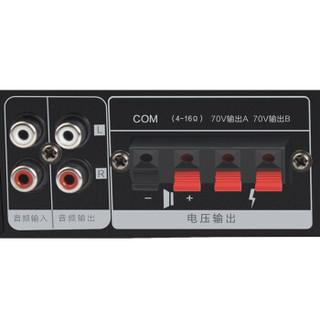 新科(Shinco)V-25 定压定阻功放机 公共广播壁挂吸顶喇叭音响蓝牙功放