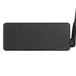 联想(Lenovo)原装 电源适配器 笔记本充电器 电源线 thinkpad电脑充电线 20V3.25A 65W方口