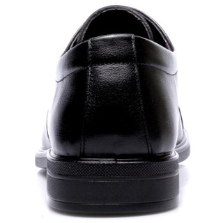 强人 男士系带商务正装皮鞋 JD351005