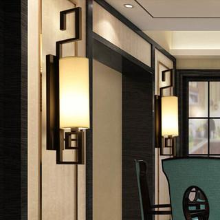 HD 新中式壁灯 客厅装饰灯卧室床头灯具 酒店墙壁灯走廊过道灯 宫阙 *3件