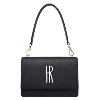Helena Rubinstein 赫莲娜 女士手提包 迷你百搭小包包 包盖时尚牛皮女士单肩斜挎包 H2-2039761K3D/C3D/A1D 黑色