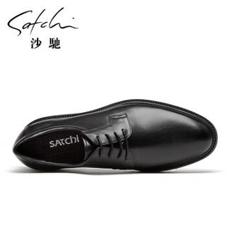 SATCHI 沙驰 男士正装商务皮鞋 40782042Z
