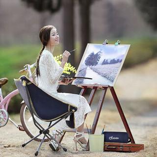 悠度(YODO)折叠椅便携式小凳子 简易钓鱼椅 户外休闲背包椅