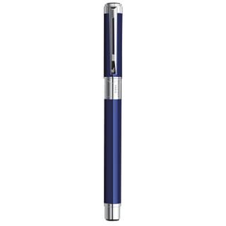 威迪文(WATERMAN)远景 蓝色白夹钢笔/墨水笔