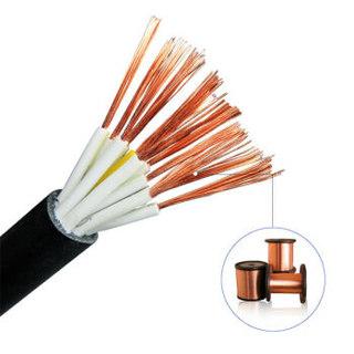 齐鲁(QILU)电线电缆 ZC-RVV 2×1平方 国标铜芯(圆) 100米