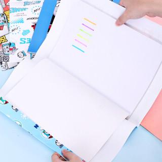 得力(deli)托马斯系列24张500×360mm学生包书纸礼物包装纸 书皮70569