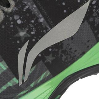 LI-NING 李宁 ABPM021-3 篮球系列 男子 篮球场地鞋 荧光浅绿/凝雪灰/黑 42码