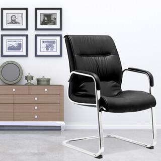 洛克菲勒 电脑椅子办公家用网椅弓形椅会议椅钢架椅CH-113C定制款