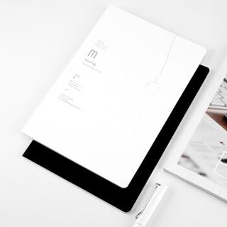广博(GuangBo)2本装B5笔记本子记事日记本 黑白计划本KGR21025