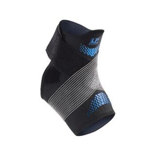 LP运动护踝男女固定扭伤篮球足球跑步防护脚踝脚腕关节护具CT12 蓝色L/XL