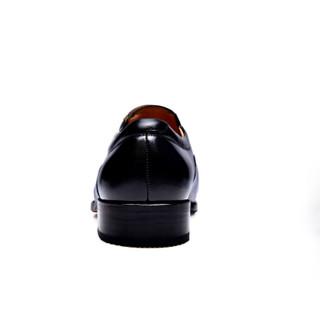 JINHOU 金猴 男士商务系带皮鞋 J2003A3