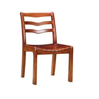 洛克菲勒职员椅棋牌椅会议椅子固定扶手家用餐椅麻将椅实木电脑椅木质办公椅