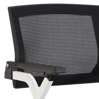 奈高培训椅带写字板折叠桌椅一体学生靠背职员办公椅子简约网布会议椅款式3