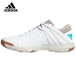 adidas 阿迪达斯 运动鞋男款休闲鞋网羽两用Wucht P5男子羽毛球鞋减震耐磨透气 DB2170 亮白 42.5码/8.5