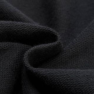 LI-NING 李宁 AKQN009-1 训练系列男子七分卫裤 标准黑  M码