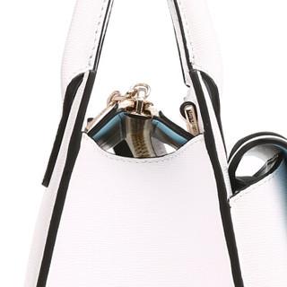 Guy Laroche姬龙雪 女士手提包休闲百搭单肩包 时尚小方包G字锁女包 品牌女包GW16981021-05白色