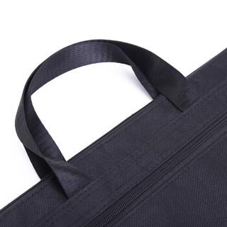 三木(SUNWOOD)双层手提资料包文件袋 轻便电脑包 黑C4631