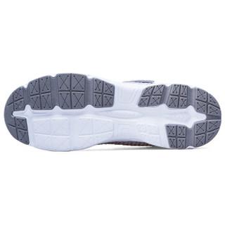 Double Star 双星 老人运动休闲防滑舒适透气中老年健步爸爸鞋 9271 灰色(男款) 42