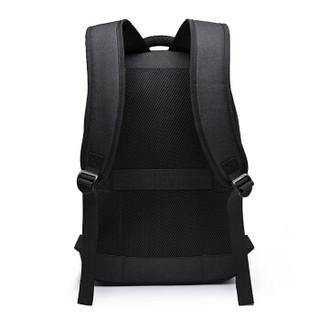 维多利亚旅行者(VICTORIATOURIST )双肩包笔记本电脑包15.6英寸 时尚双肩背包男女书包防泼水V6089黑色