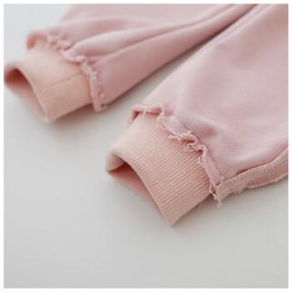 cicie童装女童长裤收口休闲裤儿童裤子C83001 粉色 110/50A