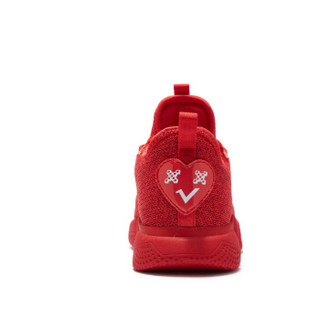 乔丹 QIAODAN QM8350310 童鞋男童运动鞋网面透气儿童跑步鞋中大童软底休闲鞋 能量红/白色 40